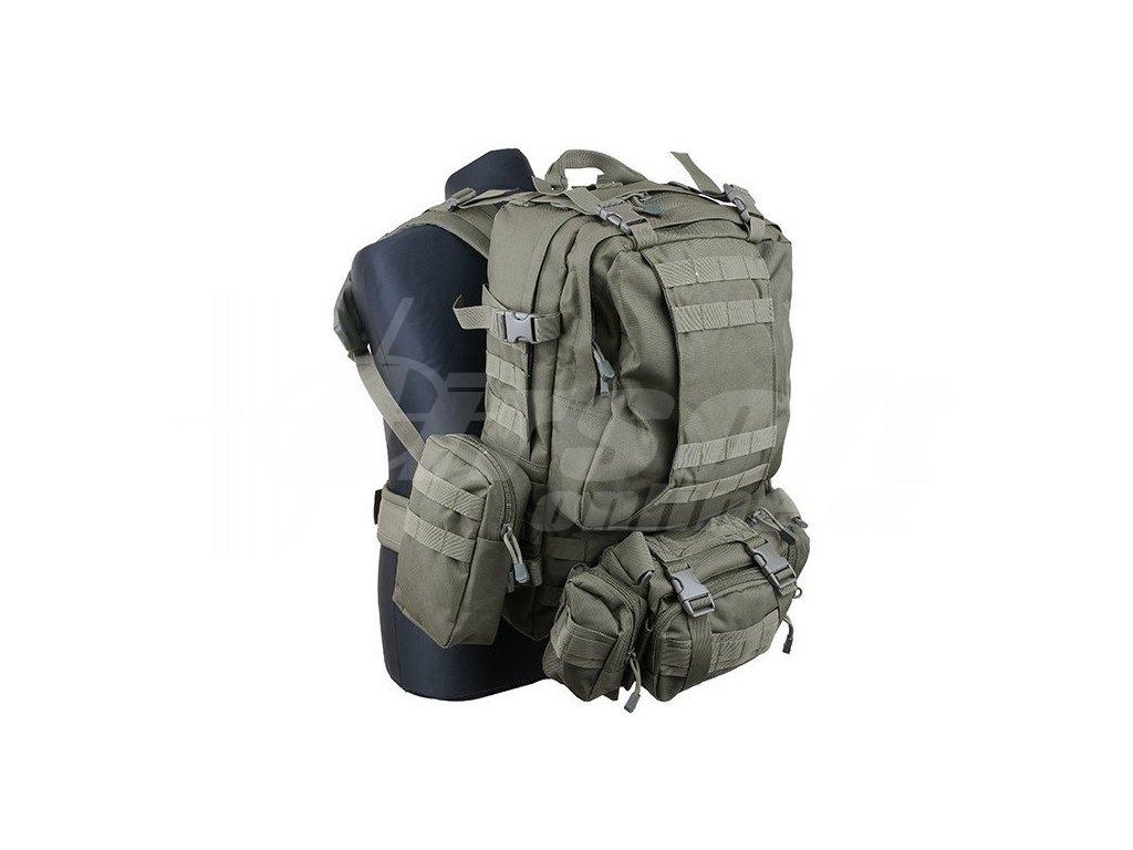 20432876177 Kombinovaný bojový batoh 45L - olivový