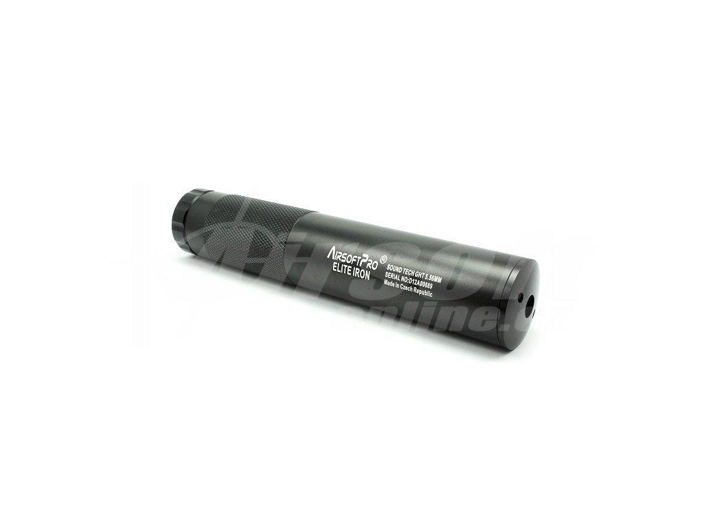 Tlumič 210x40 mm, AirsoftPro
