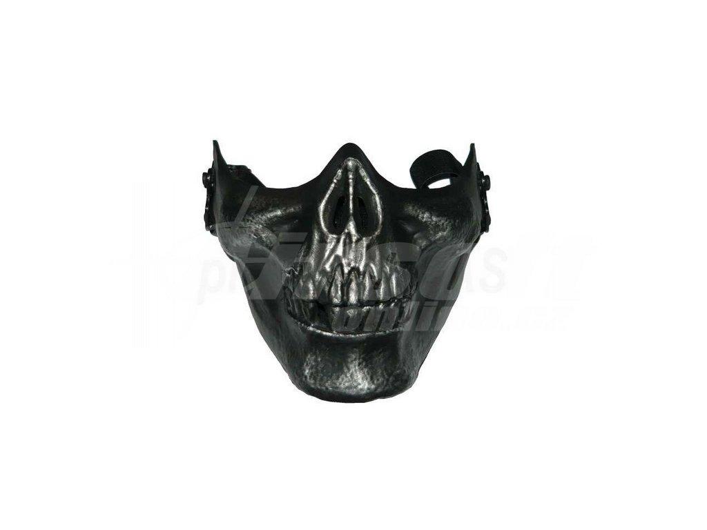Maska M03 platinovaná, černá, A.C.M.