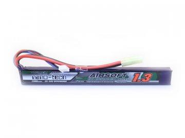 Li-Pol akumulátor Turnigy nano-tech 7,4V 1300mAh 25-50C