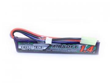 Li-Pol akumulátor Turnigy nano-tech 7,4V 1400mAh 15-25C