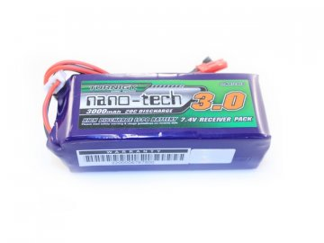 Li-Pol akumulátor Turnigy nano-tech 7,4V 3000mAh 20-40C