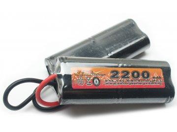 Akumulátor VB Power 9,6V 2200mAh, PEQ2,M4A1