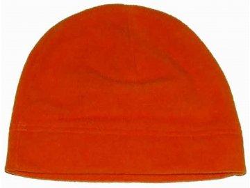 5e40ecc16b5 Čepice kulich FLEECE orange