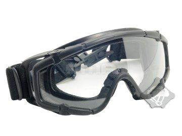 Taktické brýle SI s montáží na helmu FAST, černé, FMA