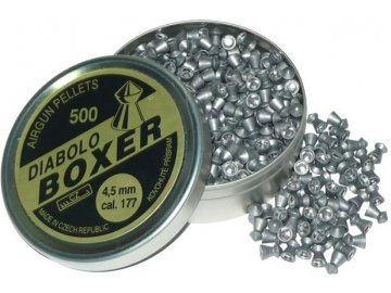 Diabolky .177 Boxer 4,5mm, 500ks