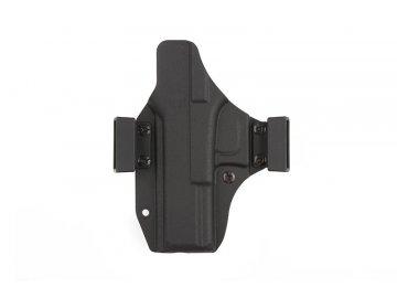 Plastové pouzdro IWB/OWB pro Glock 17/22, BTC