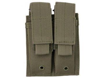Dvojitá sumka na pistolové zásobníky - olivová, GFC