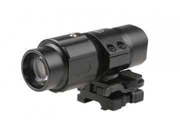 Magnifier 3x35 V2 s výklopnou montáží, Theta optics