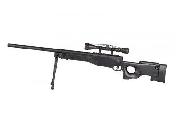 Odstřelovací puška L96 - černá, optika, Specna Arms, SA-S01D