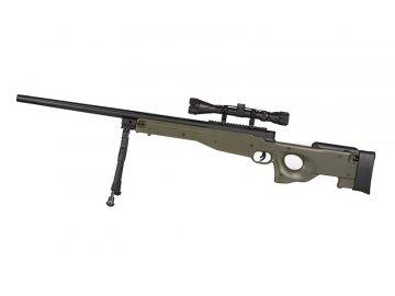 Odstřelovací puška L96 - olivová, optika, Specna Arms, SA-S01D