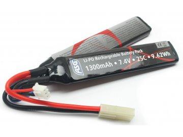Li-pol akumulátor ASG 7,4V 1300mAh
