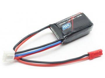 Li-pol akumulátor ASG 7,4V 250mAh 20C