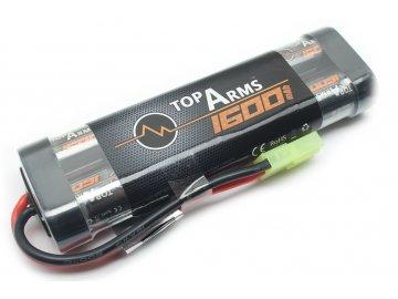 Akumulátor TopArms NiMH 9,6V 1600mAh - Mini block