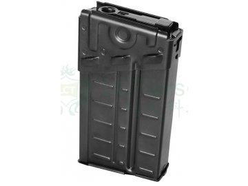 Zásobník Waffle pro H&K G3A3 (LC-3) - kovový, tlačný, 140bb