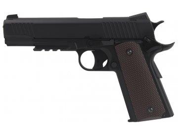 Airsoftová pistole KW40 - černá, CO2, GBB, KWC, KW40