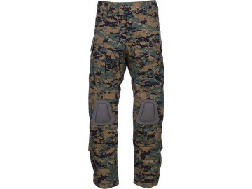 Kalhoty taktické Warrior - Digital Woodland, 101 INC