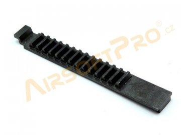 Ocelový ozubený hřeben pro písty, Airsoftpro