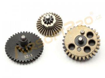 Sada vysoce zátěžových CNC kol 32:1, přímé ozubení, Airsoftpro