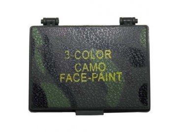 Maskovací barvy 3 barvy , MFH