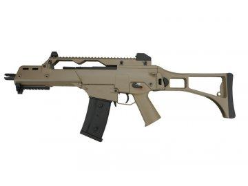 Airsoftová zbraň G36C - písková, J. G. Works, G608