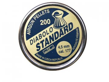 Diabolky 4,5mm Standard, 200ks