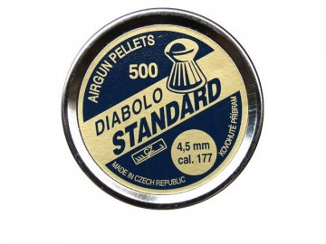 Diabolky 4,5mm Standard, 500ks