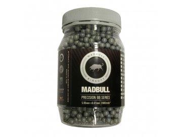 Kuličky Madbull 0,40g, 2000bb, šedé