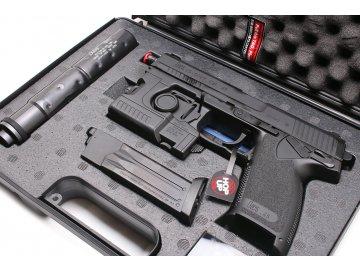 Airsoftová pistole H&K MK23 Socom - kufr, GNB, Tokyo Marui