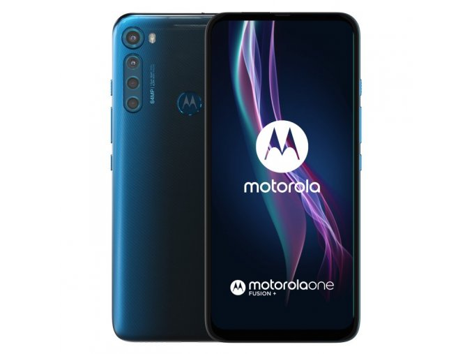 motorola one fusion 6 128gb dual sim twiligh blue sk distribucia pajw0004pl 409277