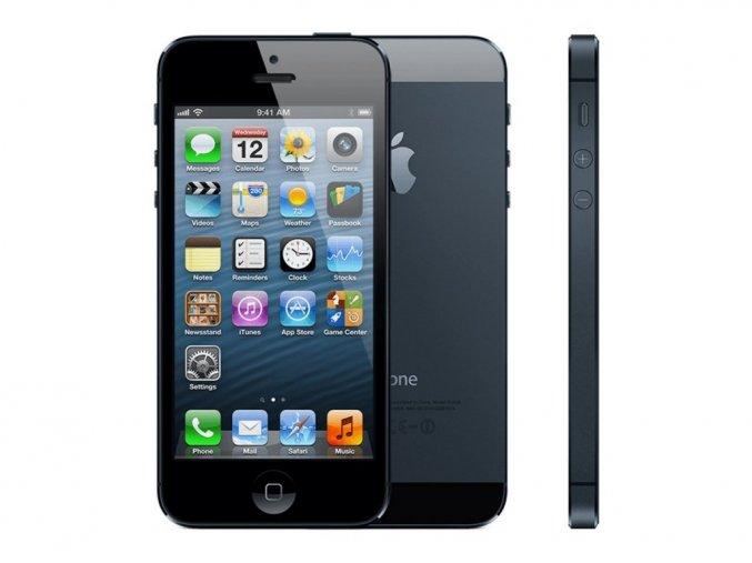 Výměna rozbitého skla Apple iPhone 5
