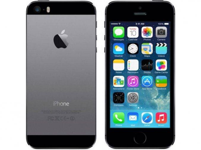 Výměna rozbitého skla Apple iPhone 5S