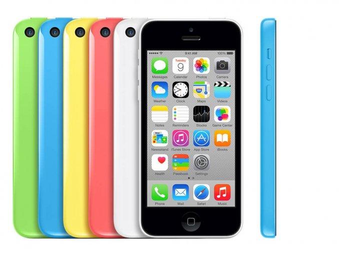 Výměna rozbitého skla Apple iPhone 5C