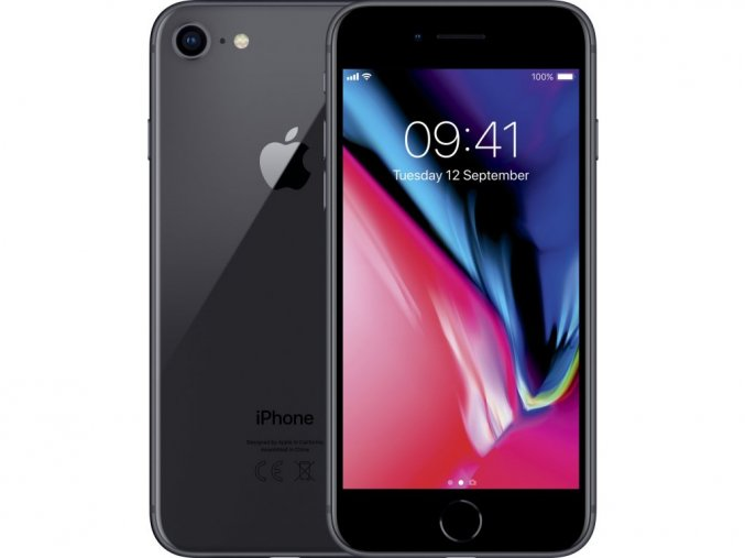 Výměna rozbitého skla Apple iPhone 8