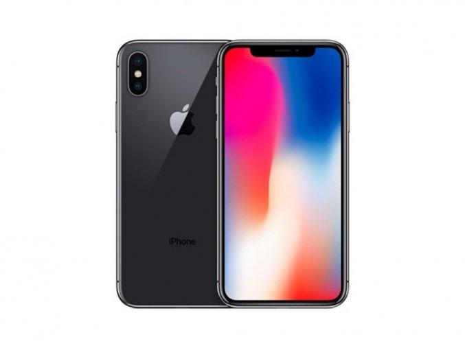 Výměna rozbitého skla Apple iPhone X