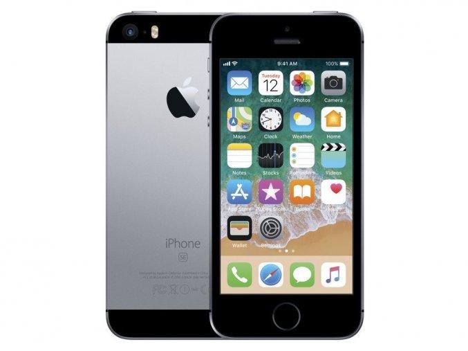 Výměna rozbitého skla Apple iPhone SE