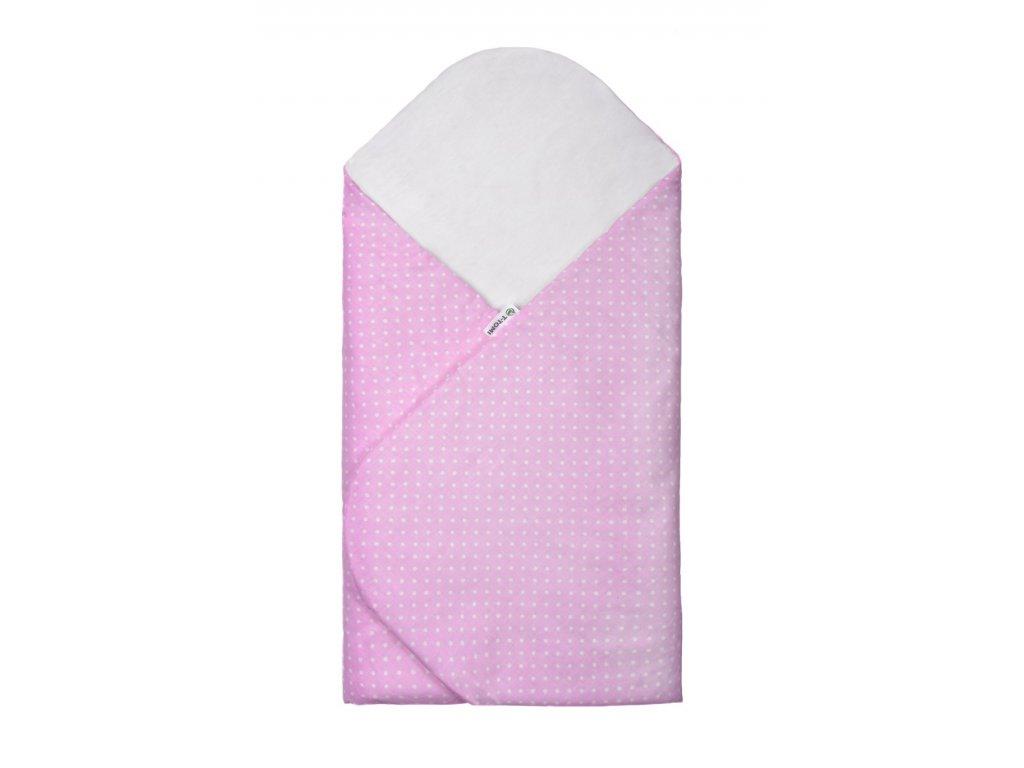T-TOMI Rychlozavinovačka, pink / little dots