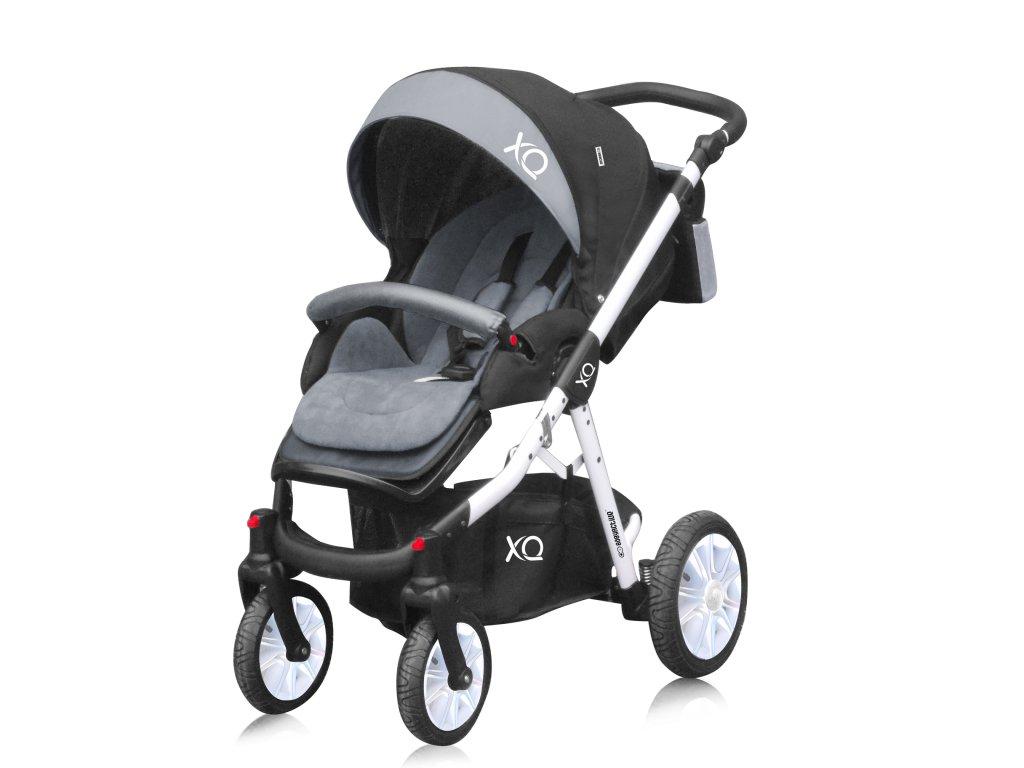 kočárek Baby active XQ white 01 2021