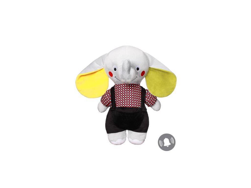 BabyOno Hračka plyšová C-MORE slon Andy 50x48cm 648