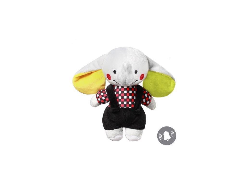 BabyOno Hračka plyšová C-MORE slon Andy 24x27cm 637