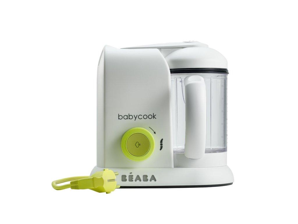 BEABA Parní vařič + mixér BABYCOOK neonový