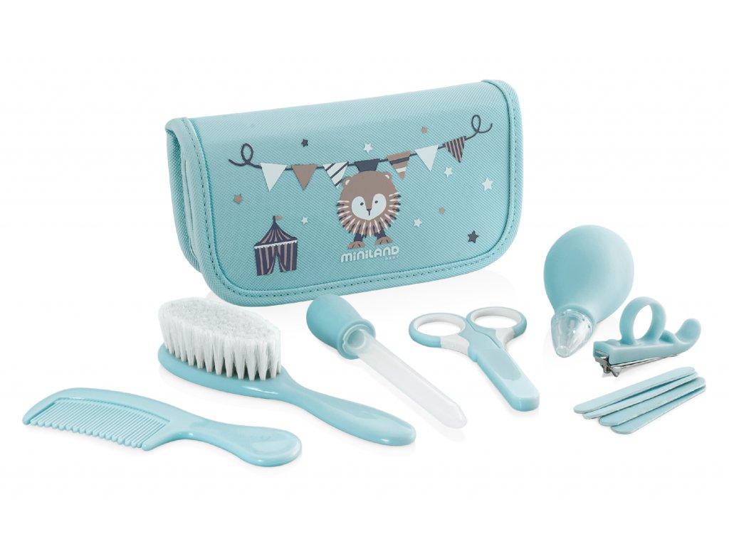 Miniland Sada hygienická Baby Kit Blue