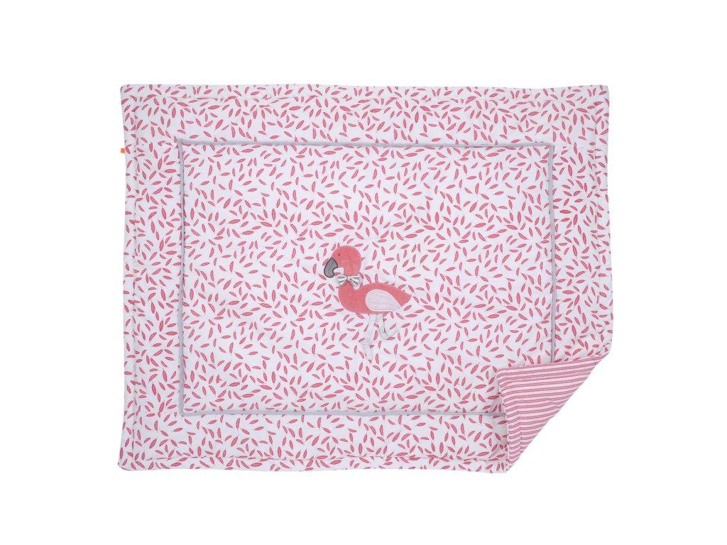 Kikadu Hrací deka růžová