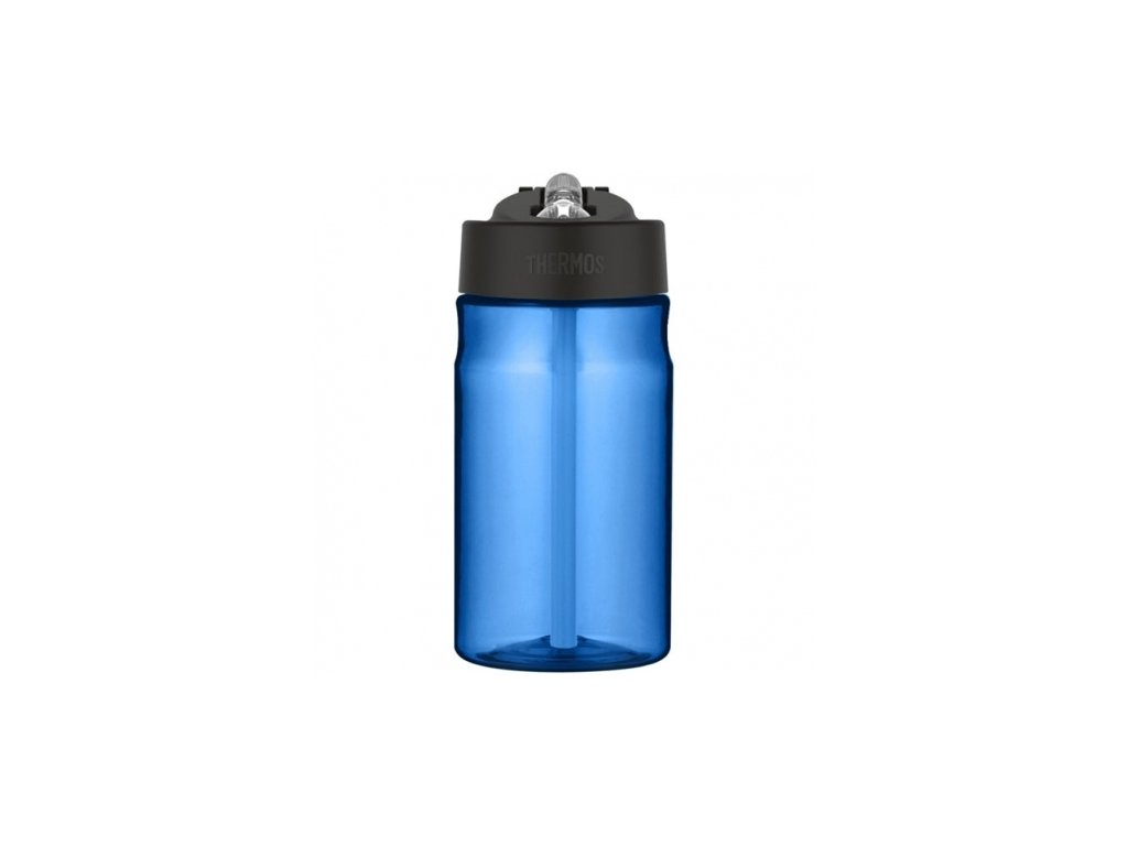 THERMOS Dětská hydratační láhev s brčkem - modrá