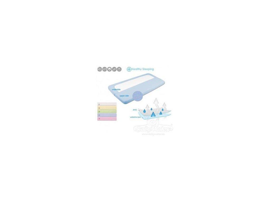 Baby Matex nepropustné prostěradlo s gumou bavlna 60x120 cm (varianta 0242)