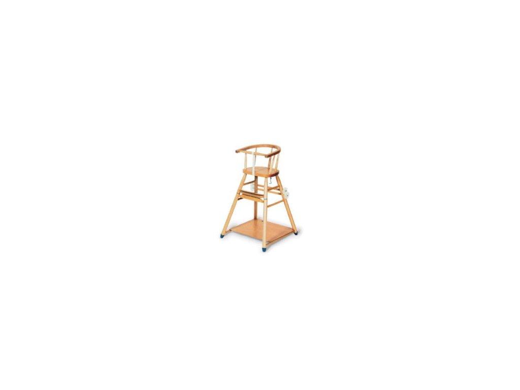 Dřevěná jídelní židlička BERNKOP Sandra