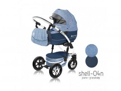 Baby Active Kočárek 3v1 Shell Eko 2021 04