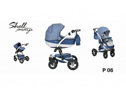 kočárek Baby Active 3v1 Shell Prestige 2021 06