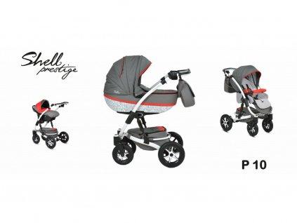 kočárek Baby Active 3v1 Shell Prestige 2021 10