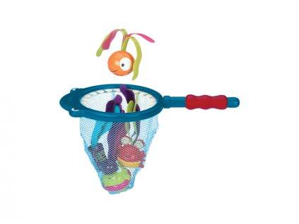B-TOYS Podběrák s hračkami na potápění Žralok Finley